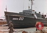 Image of patrol boat Normandy France, 1944, second 5 stock footage video 65675058886