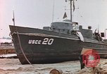 Image of patrol boat Normandy France, 1944, second 7 stock footage video 65675058886
