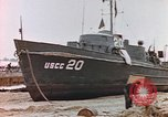 Image of patrol boat Normandy France, 1944, second 8 stock footage video 65675058886
