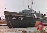 Image of patrol boat Normandy France, 1944, second 9 stock footage video 65675058886