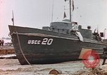 Image of patrol boat Normandy France, 1944, second 10 stock footage video 65675058886