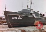 Image of patrol boat Normandy France, 1944, second 11 stock footage video 65675058886