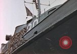 Image of patrol boat Normandy France, 1944, second 12 stock footage video 65675058886