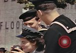 Image of American soldiers board landing craft at English port England, 1944, second 8 stock footage video 65675058887