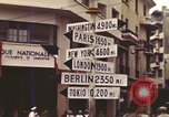 Image of Sign pointing to major cities in the world Casablanca Morocco, 1944, second 5 stock footage video 65675058907