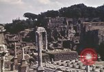 Image of Ancient ruins of the Roman Forum  Rome Italy, 1944, second 5 stock footage video 65675058910