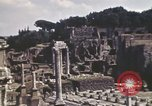 Image of Ancient ruins of the Roman Forum  Rome Italy, 1944, second 6 stock footage video 65675058910