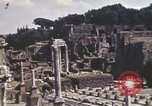 Image of Ancient ruins of the Roman Forum  Rome Italy, 1944, second 7 stock footage video 65675058910