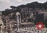 Image of Ancient ruins of the Roman Forum  Rome Italy, 1944, second 8 stock footage video 65675058910