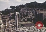Image of Ancient ruins of the Roman Forum  Rome Italy, 1944, second 9 stock footage video 65675058910