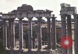 Image of Ancient ruins of the Roman Forum  Rome Italy, 1944, second 10 stock footage video 65675058910