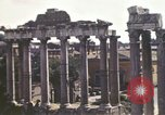 Image of Ancient ruins of the Roman Forum  Rome Italy, 1944, second 11 stock footage video 65675058910