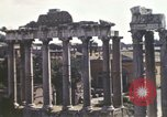 Image of Ancient ruins of the Roman Forum  Rome Italy, 1944, second 12 stock footage video 65675058910