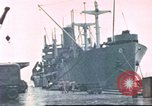 Image of Liberty ships Hawaii USA, 1945, second 1 stock footage video 65675058917
