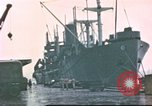 Image of Liberty ships Hawaii USA, 1945, second 2 stock footage video 65675058917