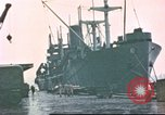 Image of Liberty ships Hawaii USA, 1945, second 4 stock footage video 65675058917