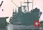 Image of Liberty ships Hawaii USA, 1945, second 5 stock footage video 65675058917