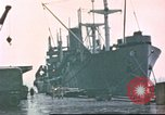 Image of Liberty ships Hawaii USA, 1945, second 6 stock footage video 65675058917