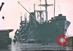 Image of Liberty ships Hawaii USA, 1945, second 10 stock footage video 65675058917