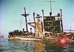 Image of damaged ship Manila Philippines, 1945, second 5 stock footage video 65675058923