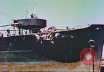Image of damaged ship Manila Philippines, 1945, second 3 stock footage video 65675058924