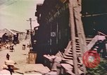 Image of unloading operations Manila Philippines, 1945, second 12 stock footage video 65675058928