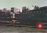 Image of damaged landing crafts Manila Philippines, 1945, second 4 stock footage video 65675058932