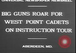 Image of West Point cadets Aberdeen Maryland USA, 1930, second 4 stock footage video 65675058938