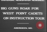 Image of West Point cadets Aberdeen Maryland USA, 1930, second 5 stock footage video 65675058938