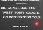Image of West Point cadets Aberdeen Maryland USA, 1930, second 6 stock footage video 65675058938