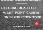 Image of West Point cadets Aberdeen Maryland USA, 1930, second 9 stock footage video 65675058938