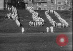 Image of hoop roll race Wellesley Massachusetts USA, 1930, second 9 stock footage video 65675058939