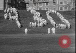Image of hoop roll race Wellesley Massachusetts USA, 1930, second 10 stock footage video 65675058939