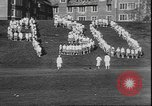 Image of hoop roll race Wellesley Massachusetts USA, 1930, second 12 stock footage video 65675058939