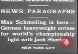 Image of Max Schmeling New York United States USA, 1930, second 4 stock footage video 65675058940