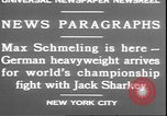 Image of Max Schmeling New York United States USA, 1930, second 7 stock footage video 65675058940