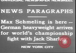 Image of Max Schmeling New York United States USA, 1930, second 8 stock footage video 65675058940