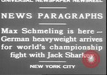 Image of Max Schmeling New York United States USA, 1930, second 12 stock footage video 65675058940