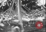 Image of girls dancing around May poles San Francisco California USA, 1930, second 11 stock footage video 65675058941