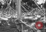 Image of girls dancing around May poles San Francisco California USA, 1930, second 12 stock footage video 65675058941