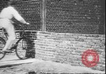 Image of stunts on bicycles Berlin Germany, 1930, second 17 stock footage video 65675058945
