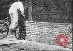 Image of stunts on bicycles Berlin Germany, 1930, second 18 stock footage video 65675058945