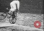 Image of stunts on bicycles Berlin Germany, 1930, second 19 stock footage video 65675058945