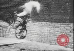 Image of stunts on bicycles Berlin Germany, 1930, second 20 stock footage video 65675058945