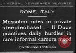 Image of Benito Mussolini Rome Italy, 1931, second 1 stock footage video 65675058950