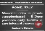 Image of Benito Mussolini Rome Italy, 1931, second 3 stock footage video 65675058950