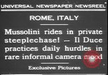 Image of Benito Mussolini Rome Italy, 1931, second 5 stock footage video 65675058950