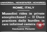 Image of Benito Mussolini Rome Italy, 1931, second 6 stock footage video 65675058950