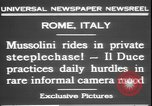 Image of Benito Mussolini Rome Italy, 1931, second 9 stock footage video 65675058950