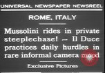 Image of Benito Mussolini Rome Italy, 1931, second 10 stock footage video 65675058950